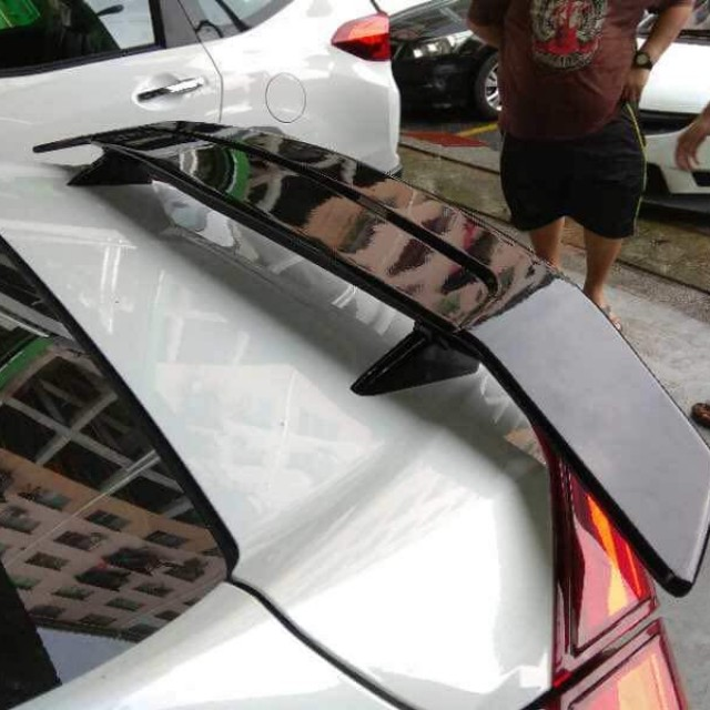 Honda Civic Fc Si Spoiler Come With Brake Light With Painting Rm