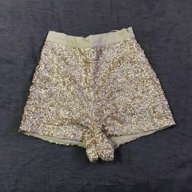 House Of Wild Sequin Shorts