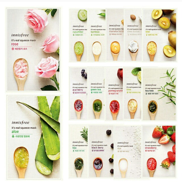 Innisfree Its Real Squeeze Mask Sheet
