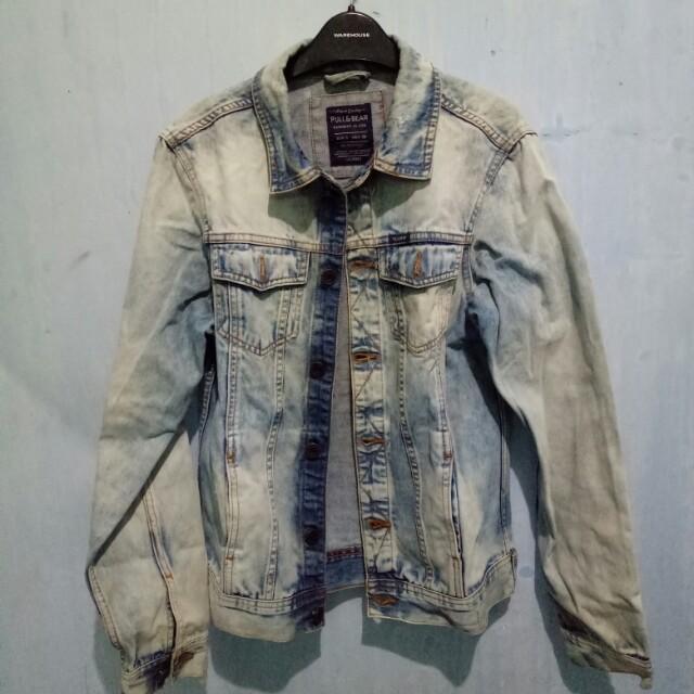 Jacket Denim Pull&Bear