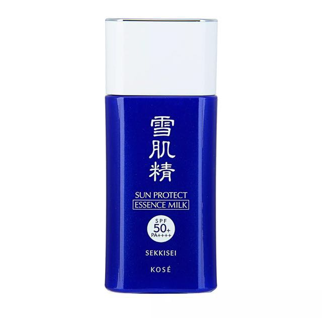 JAPAN- KOSE Sekkisei Sun Protect Essence Milk N SPF50+ PA++++ 55ml Sun Care