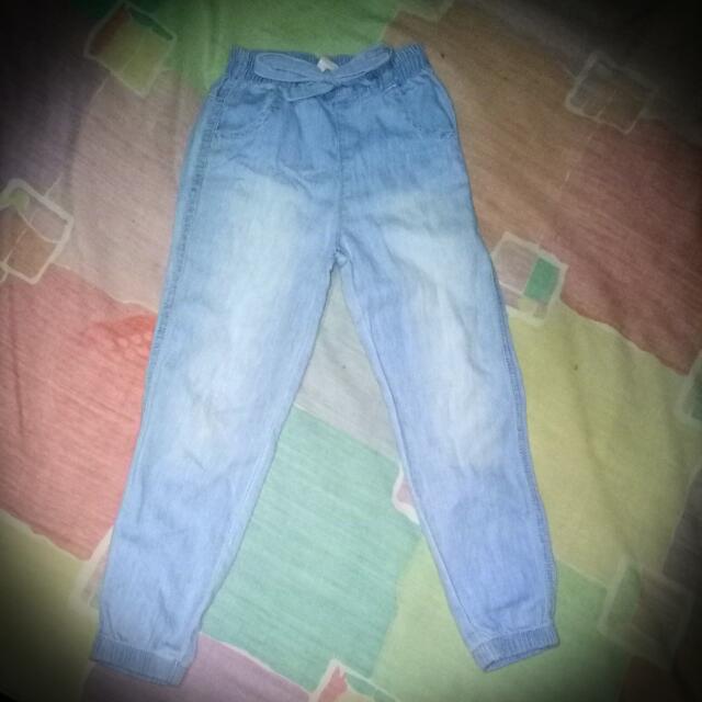 Jogger Pants Acid Wash
