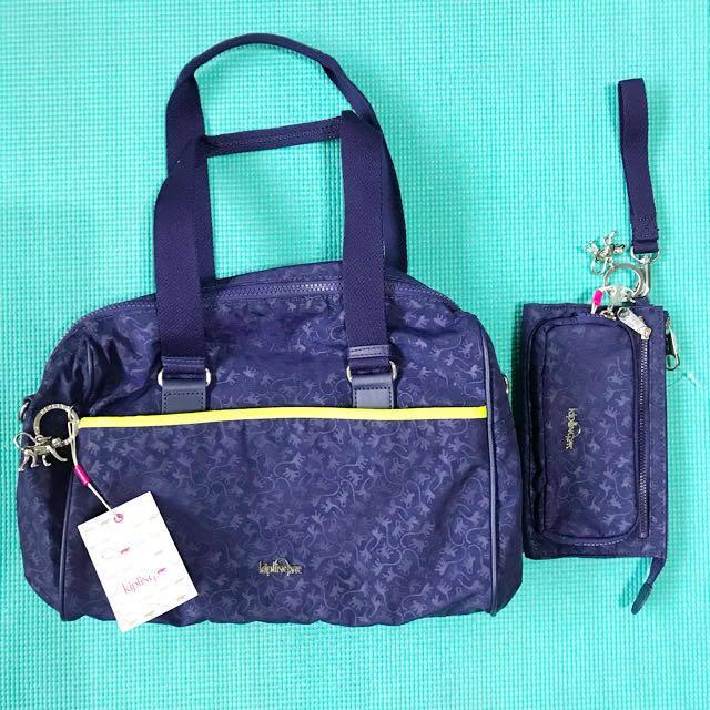 Authentic Kipling Bag and Wallet set