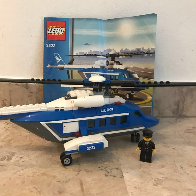 Lego City Helicopter 3222 Toys Games Bricks Figurines On Carousell