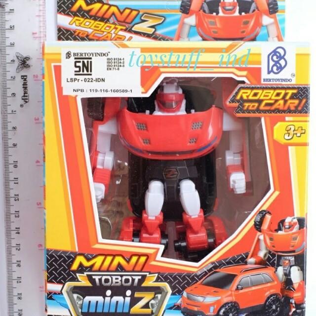 Mobil Tobot X >> MAINAN TOBOT MINI Z MERAH MOBIL ROBOT BERUBAH W X Y Z BIRU UNGU ORENS, Bayi & Anak, Mainan ...