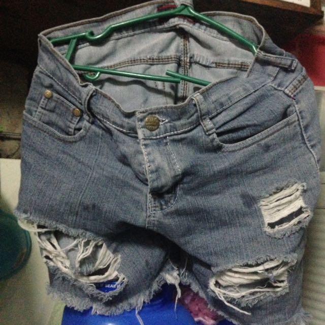 Maong shorts!!
