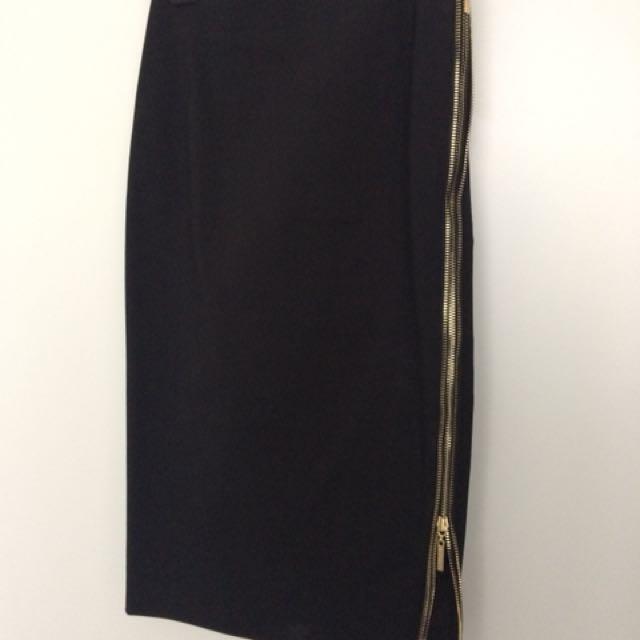 Marciano zipper skirt