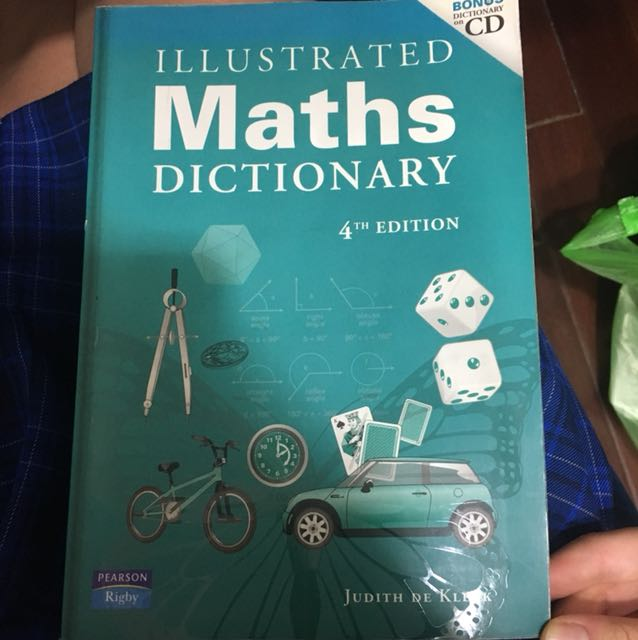 Maths Dictionary 4th Edition