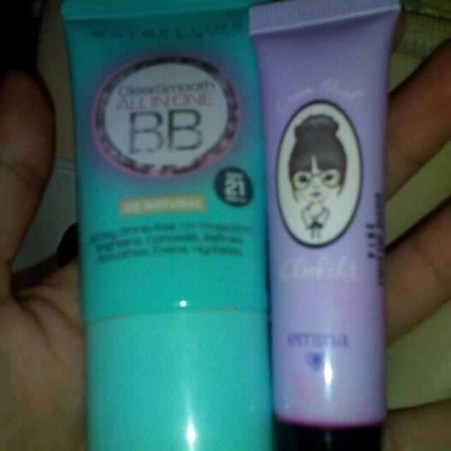 Maybelline bb cream&emina blush