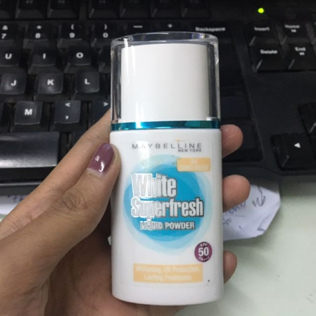 Maybelline White Superfresh Preloved