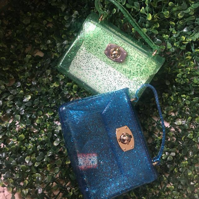 mini jelly sling bag