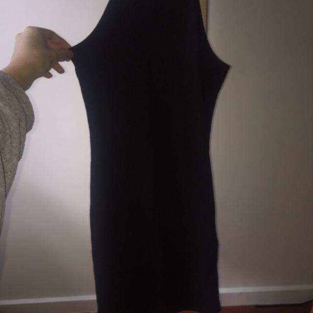 mini pink black mini dress