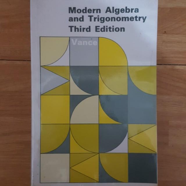 Modern Algebra and Trigonometry VANCE