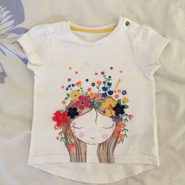 Mothercare girls shirt