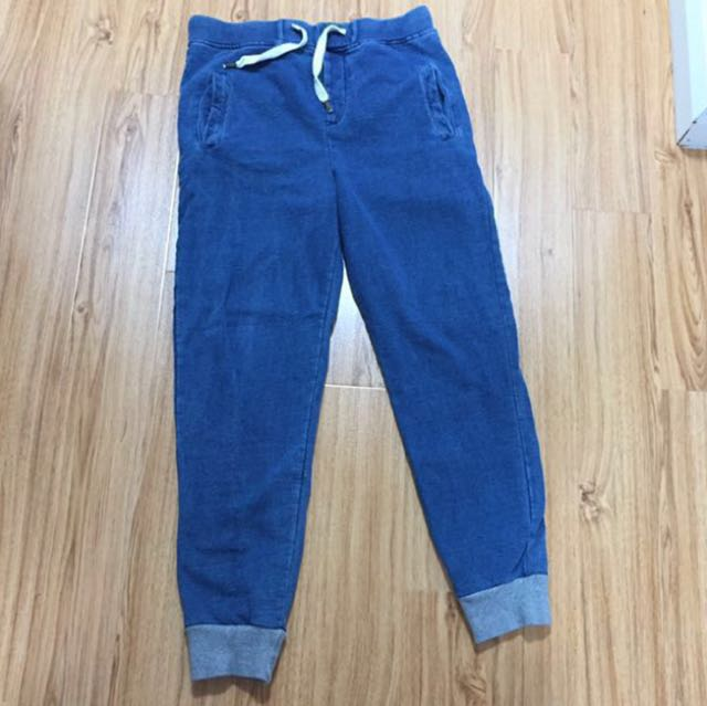 Native Youth Denim Cotton Joggers