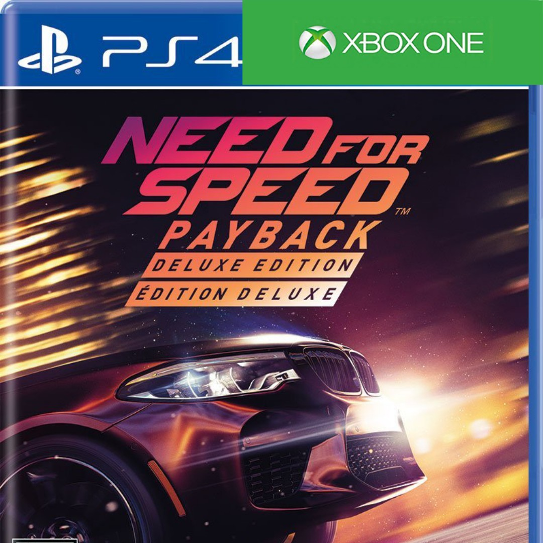 Need For Speed Payback Deluxe Edition Toys Games Video Gaming
