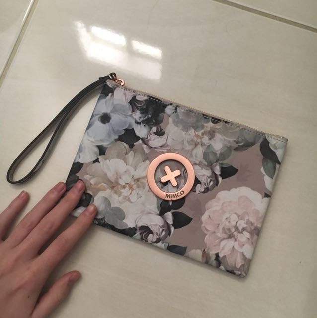 NEVER USED Mimco Pouch
