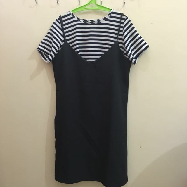 NEW! Tanktop Dress with T-shirt