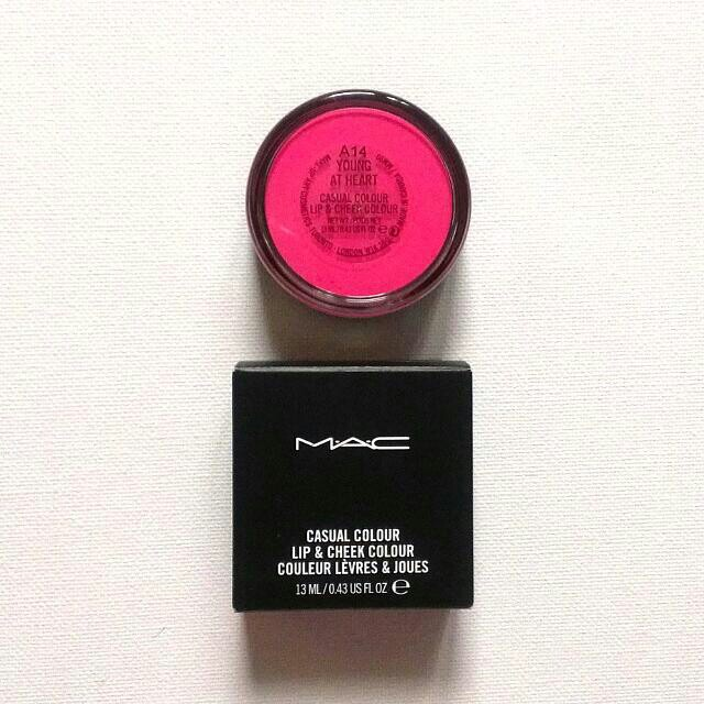 NIB MAC Casual Lip and Cheek Colour in Young at Heart