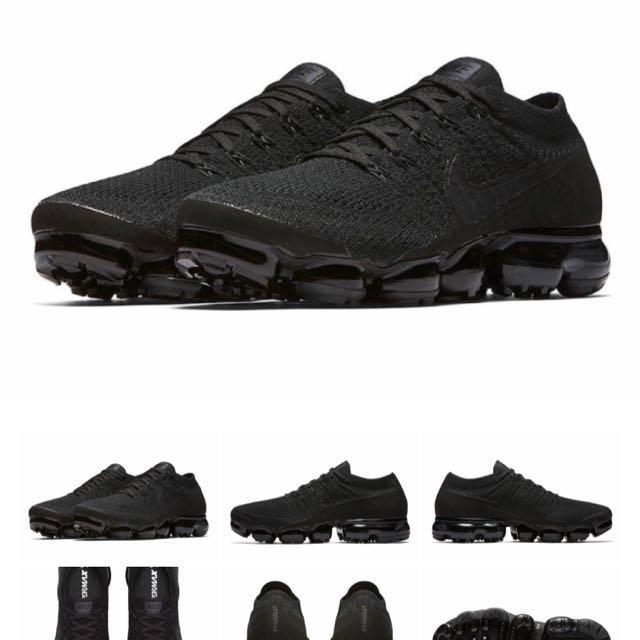 cb0081be315 Nike Air Vapormax 2.0 Triple Black US 9