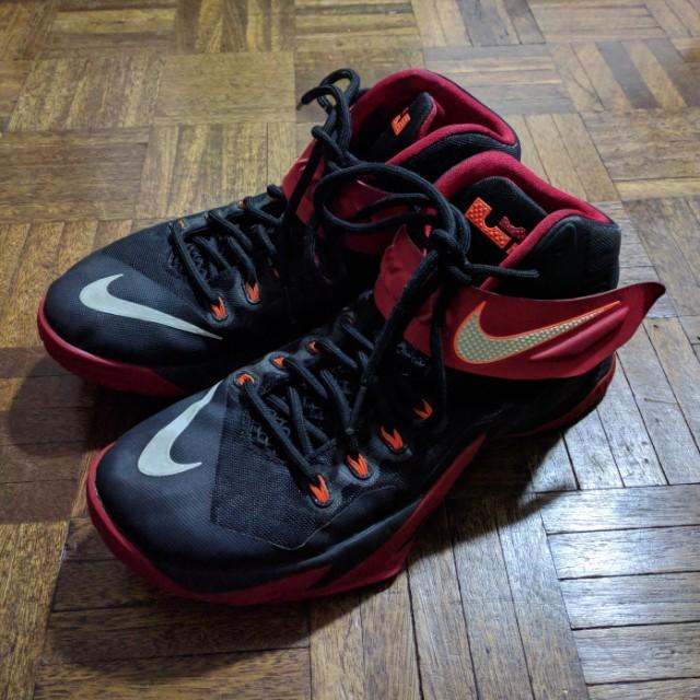Nike Zoom Lebron Soldier viii Red/Black