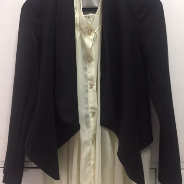 Office blazer and Top