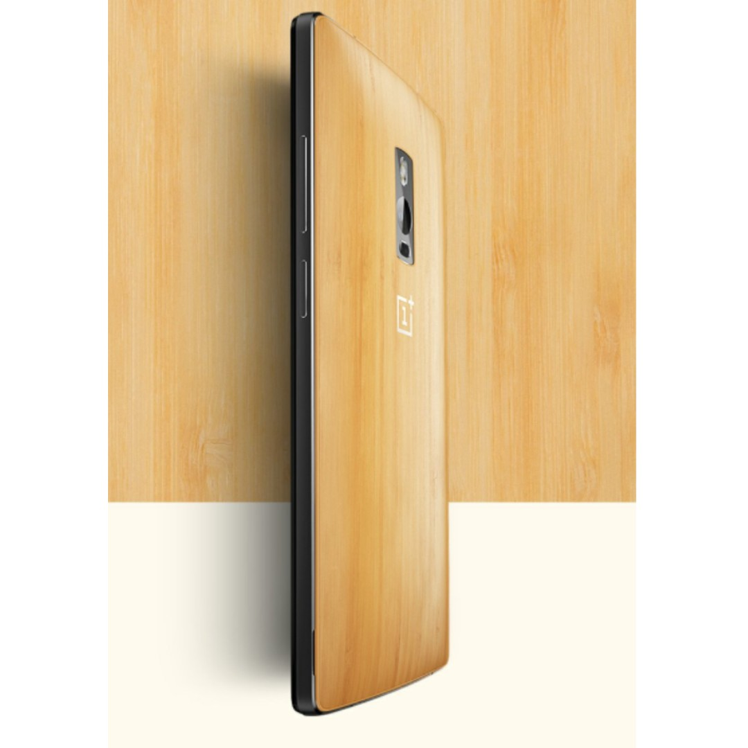 sports shoes 226d9 f0469 OnePlus 2 Limited Edition Bamboo Styleswap Cover