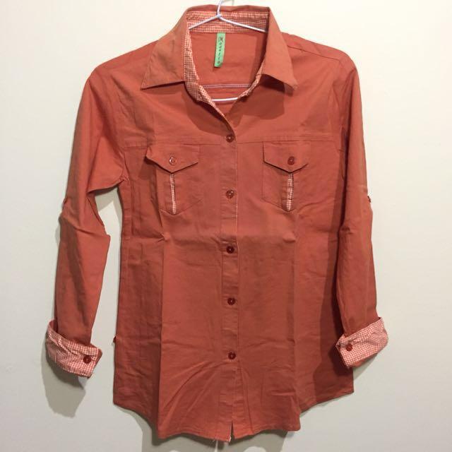 Orange Shirt (kemeja)