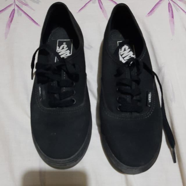 Original Black VANS Shoes Size 5