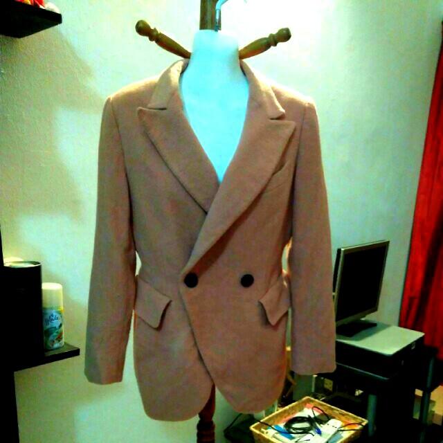 Peach blazer