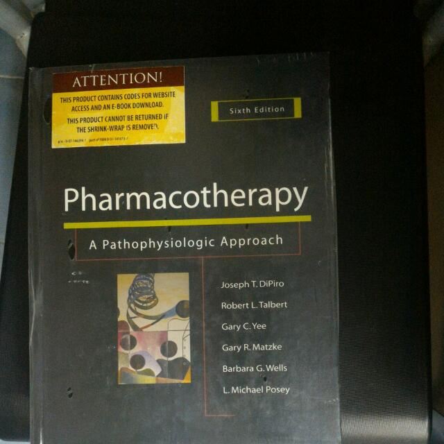 PHARMACOTHERAPY (Hardcover)