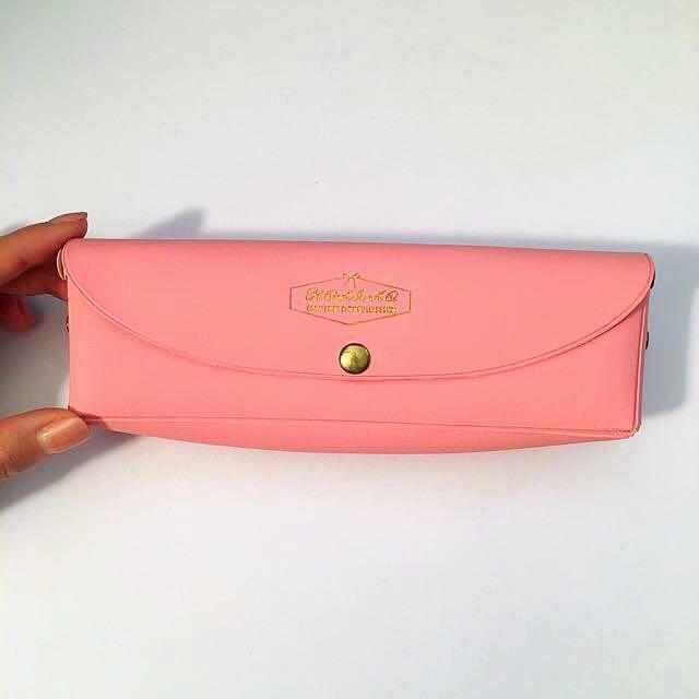 Pink Pencil Case / Pouch