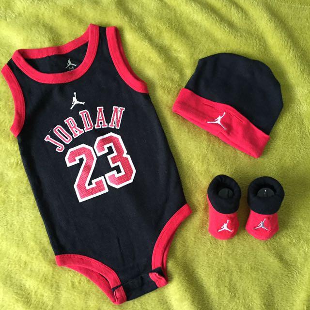 Preloved Baby Jordan Set