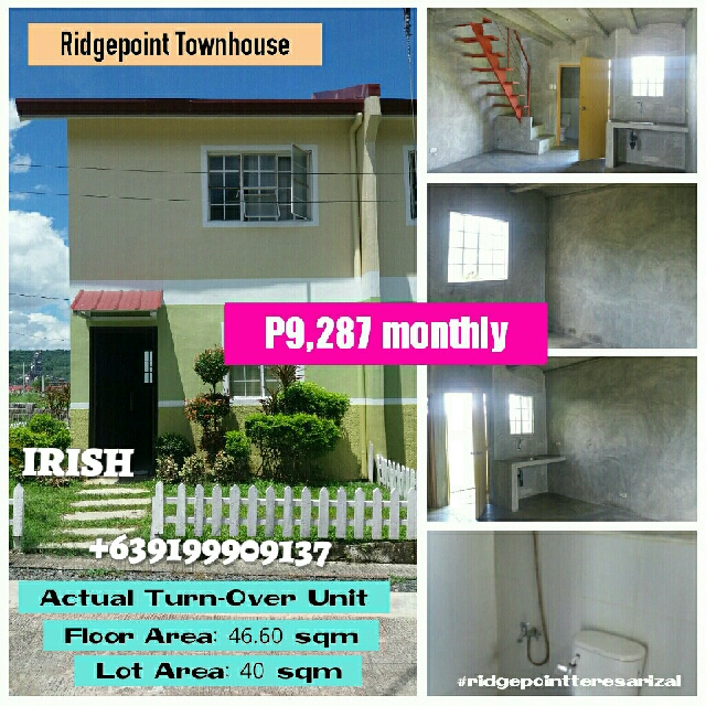Presell Townhouse In Ridgepoint Subd Teresa