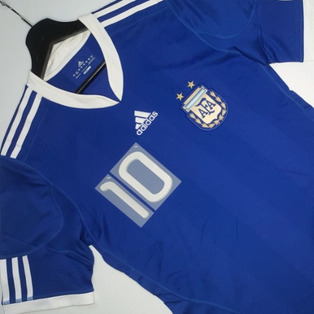 698c9142c Price Nego   MESSI 10  ADIDAS ARGENTINA AWAY JERSEY SHIRT WORLD CUP ...