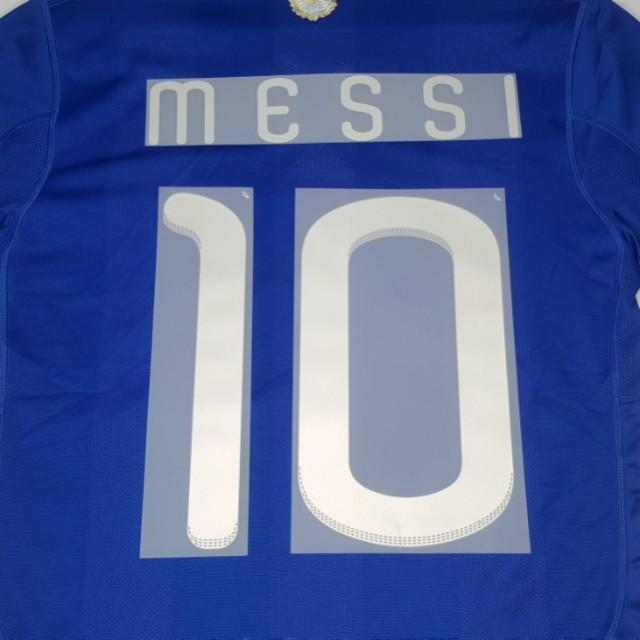 c21b46260 Price Nego   MESSI 10  ADIDAS ARGENTINA AWAY JERSEY SHIRT WORLD CUP 2010
