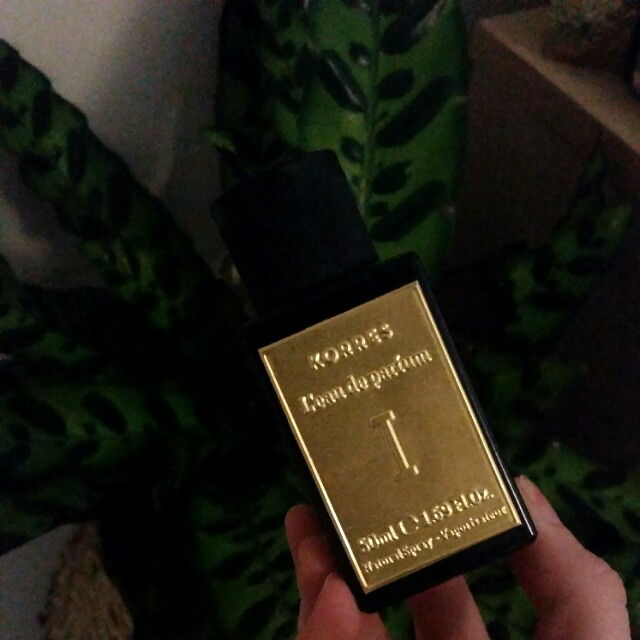 RARE PERFUME NEW IN BOX: KORRES Eau De Parfum I for Women 50ml