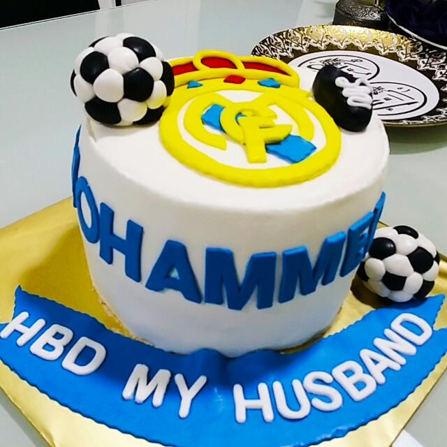 real madrid cake real madrid cake parti kek cake cake wedding 6971