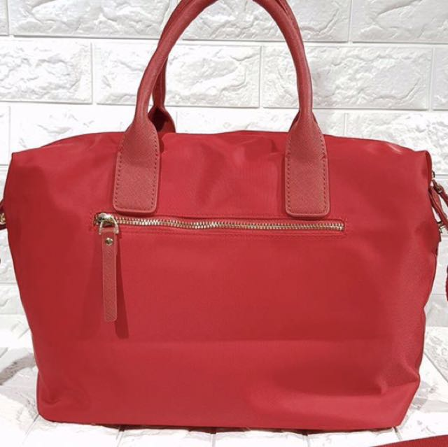 Red Kate Spade Tote Bag Women S Fashion Bags Wallets On Carou