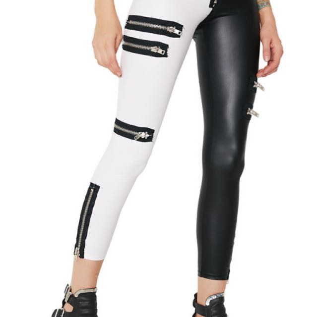 RENT: CURRENT MOOD/DOLLS KILL IDENTITY CRISIS LEGGINGS