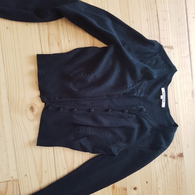 Review cardigan  size 6