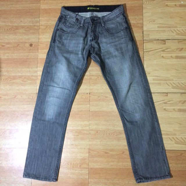 SALE!!! Straight Cut Denim Pants For Men