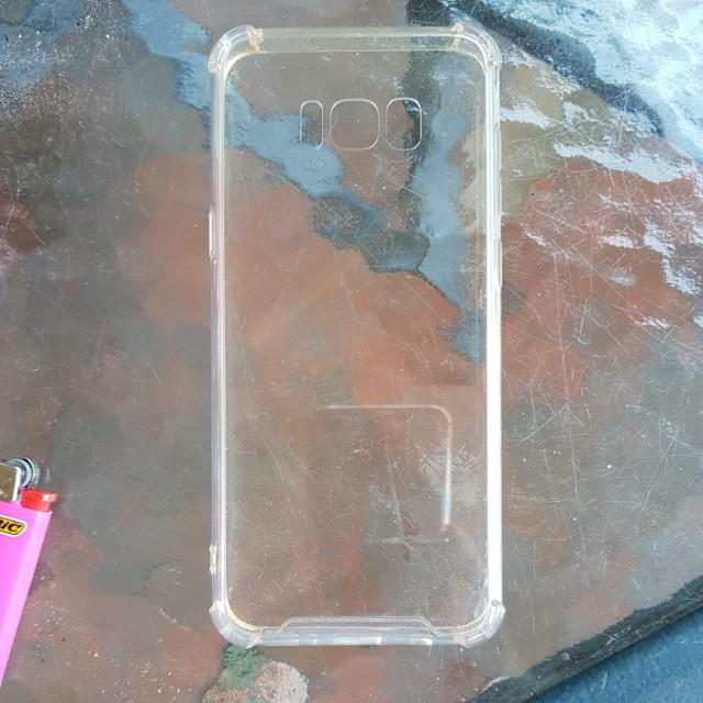 Samsung Galaxy 8+ Clear Cover
