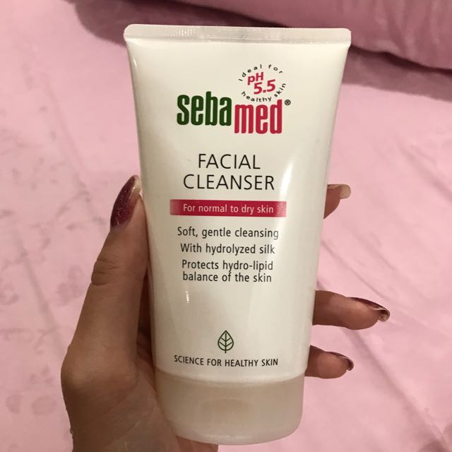 Sebamed facial cleanser