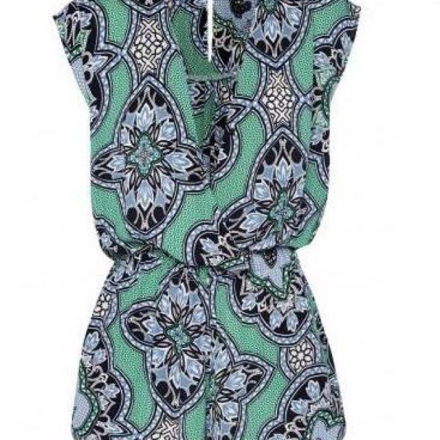 Sheike Medallion Playsuit size S