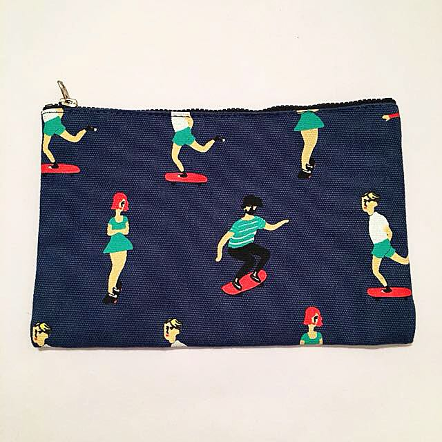 Skaters Tote Pouch