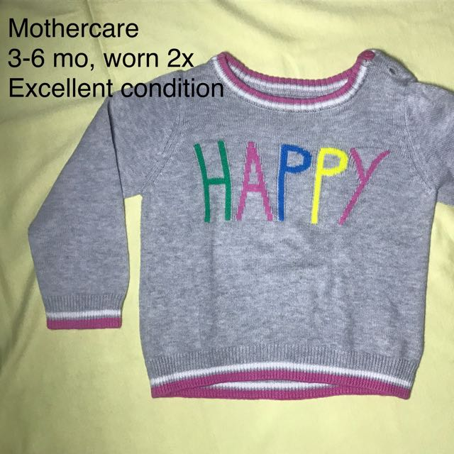 Sweater baby Mothercare (preloved)