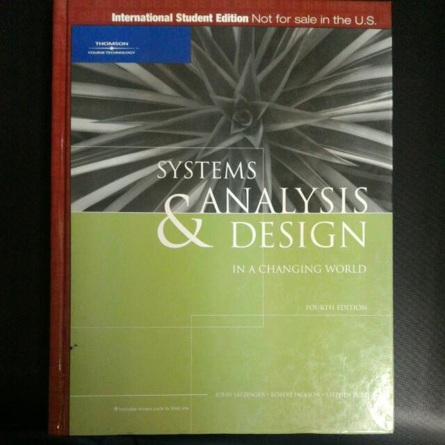 SYSTEMS ANALYSIS DESIGN (Hardcover)