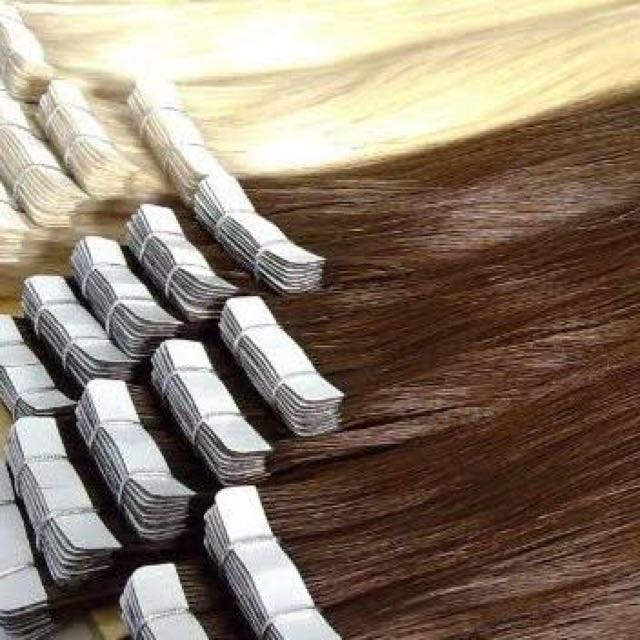 Tape Hair Extentions 100% Human Hair 60 G