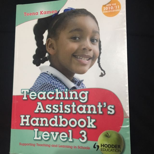 Teachers assistant handbook